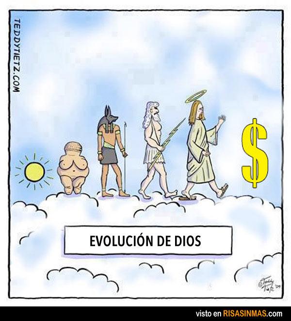 Evolución de dios