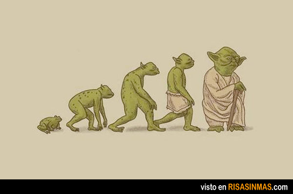 Evolución de Yoda