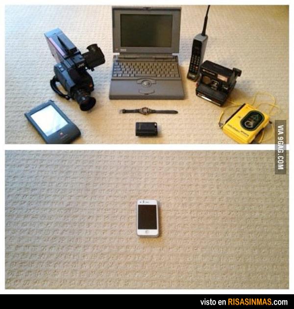 Evolución tecnológica. 1993 vs 2013