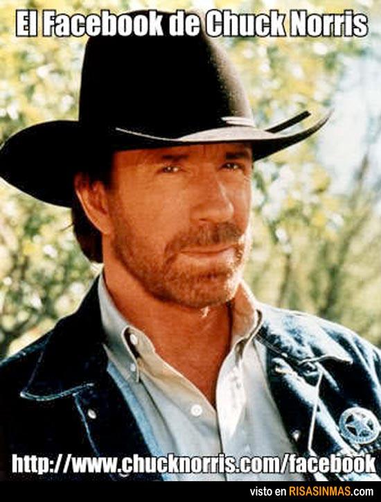 El Facebook de Chuck Norris