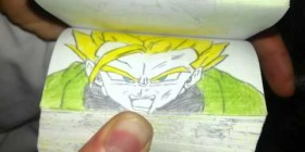 Flipbook de Dragon Ball Z