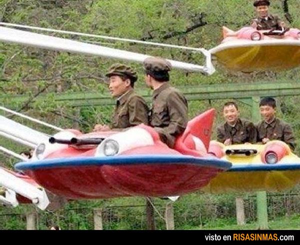 La temible fuerza aérea de Corea del Norte