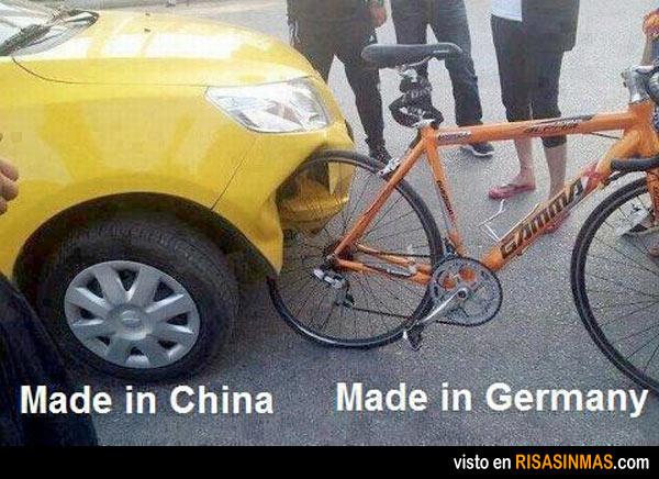 China 0 - Alemania 1