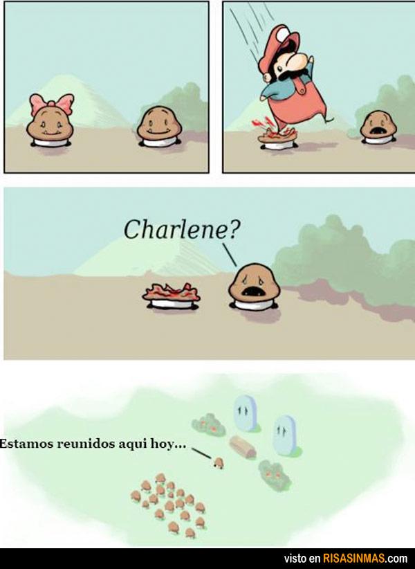 La crueldad de Mario Bros