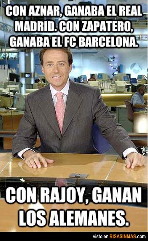 Con Rajoy, ganan los alemanes