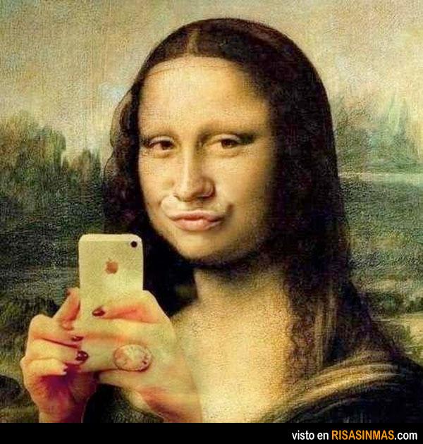 Mona Lisa estilo Tuenti