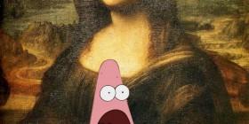 Patricio y Mona Lisa