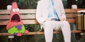 Patricio y Forrest Gump