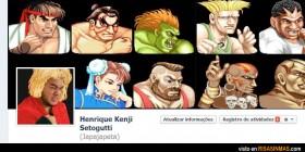 Portada Facebook: Street Fighter
