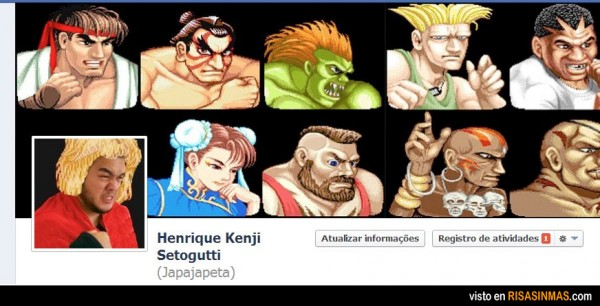 Portada Facebook: Street Fighter