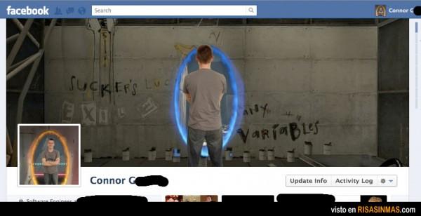 Portadas Facebook originales: Portal