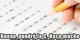 Respuesta típica en test