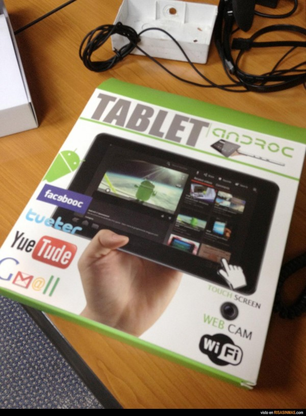 Tablet made in China
