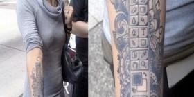 Tatuaje para fanáticos de Photoshop