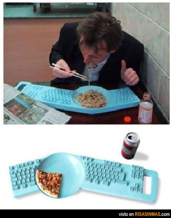 El teclado de los informáticos