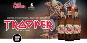 Trooper, la cerveza de Iron Maiden