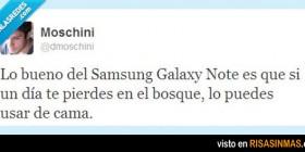 Las ventajas de tener un Galaxy Note