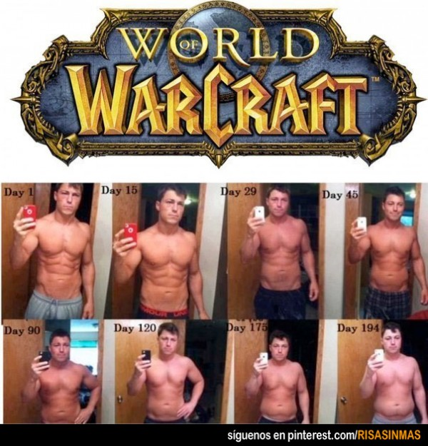 En forma con World of Warcraft