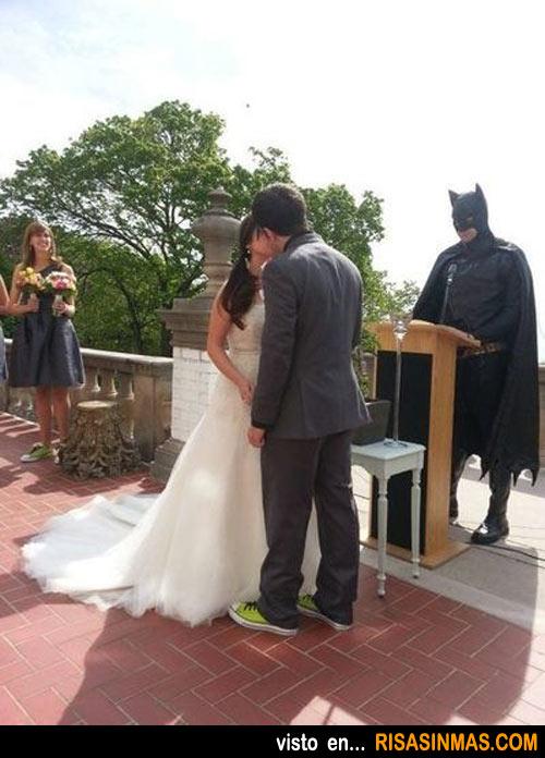 Si no te casa Batman no es lo mismo