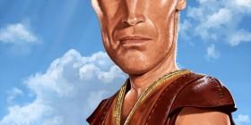 Caricatura de Ben-Hur (Charlton Heston)