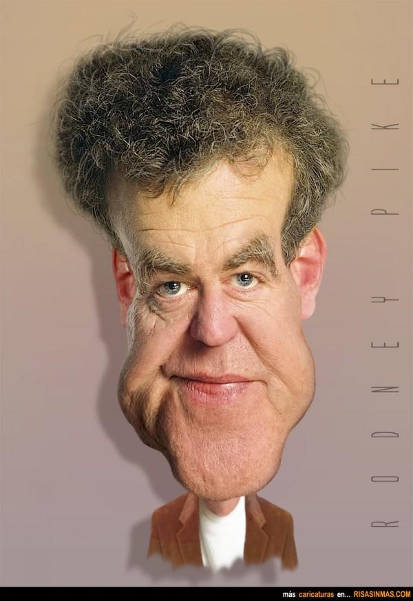 Caricatura de Jeremy Clarkson