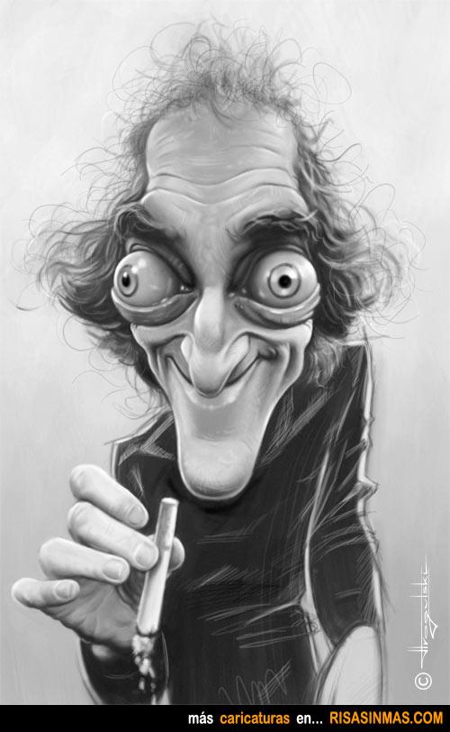 Caricatura de Marty Feldman