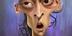 Caricatura de Mesut Özil