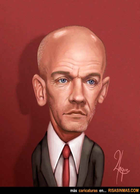 Caricatura de Michael Stipe (REM)