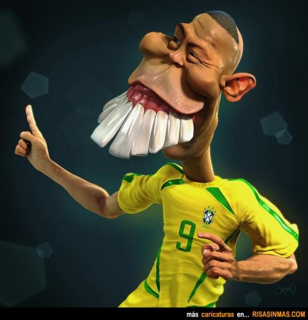 Caricatura de Ronaldo