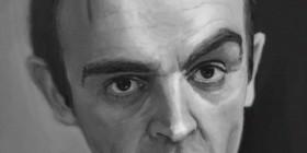Caricatura de Sean Connery