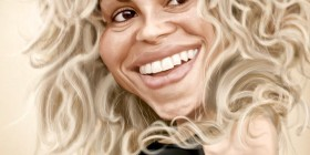 Caricatura de Shakira
