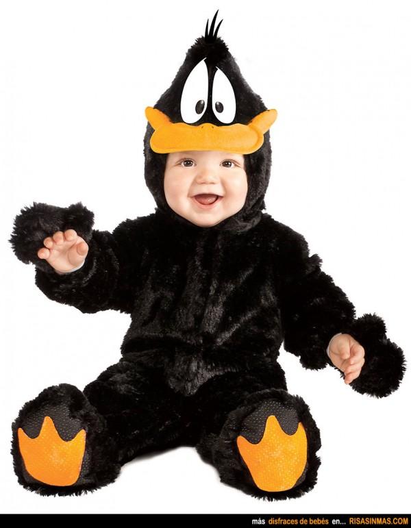 Disfraces de bebés: Pato Lucas