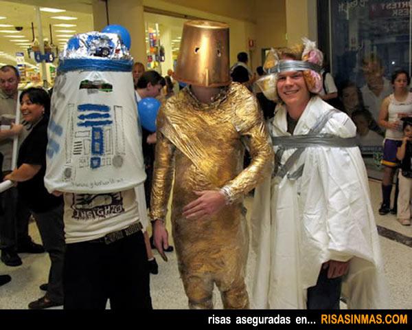 Disfraces horrorosos: Star Wars