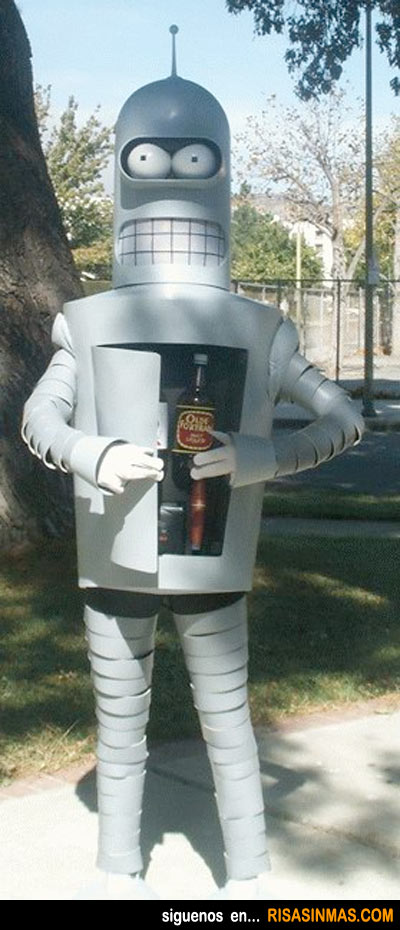 Disfraces originales: Bender