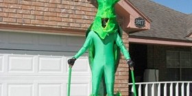 Disfraces originales: Mantis religiosa