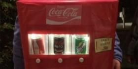 Disfraces originales: Máquina de refrescos