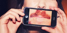 Fotografías graciosas: Mujer bigotuda