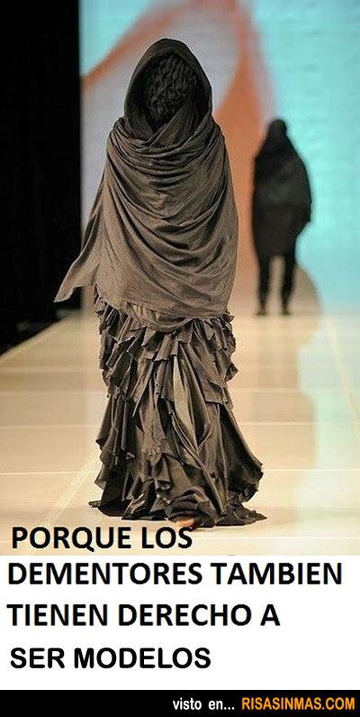Los Dementores también pueden ser modelos