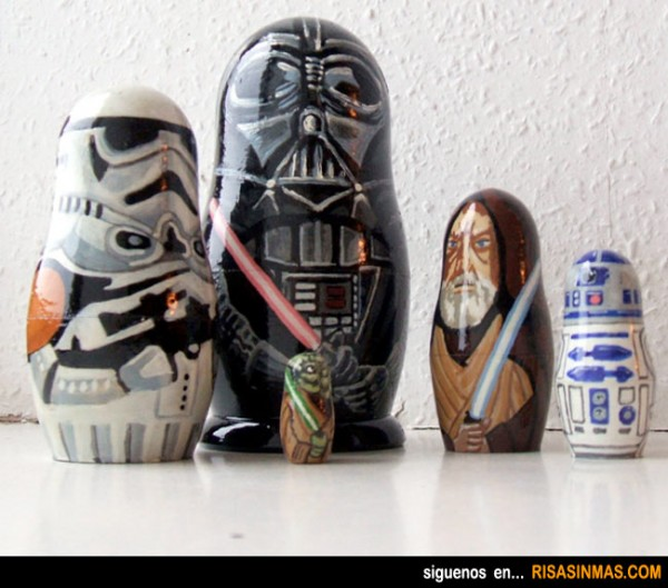 Matrioskas de Star Wars