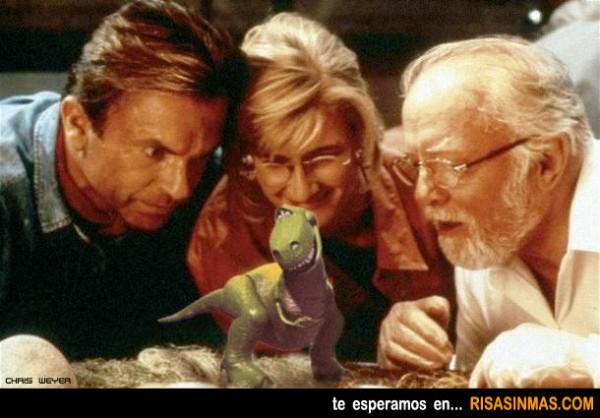 Parque Jurásico + Toy Story