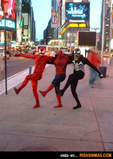 Superhéroes de fiesta