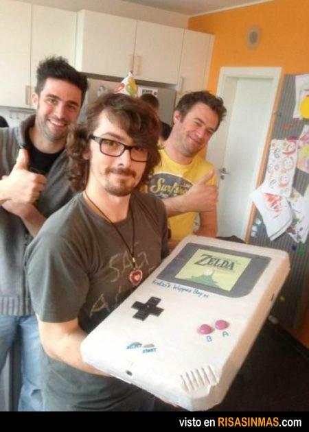 Tartas originales: Gameboy