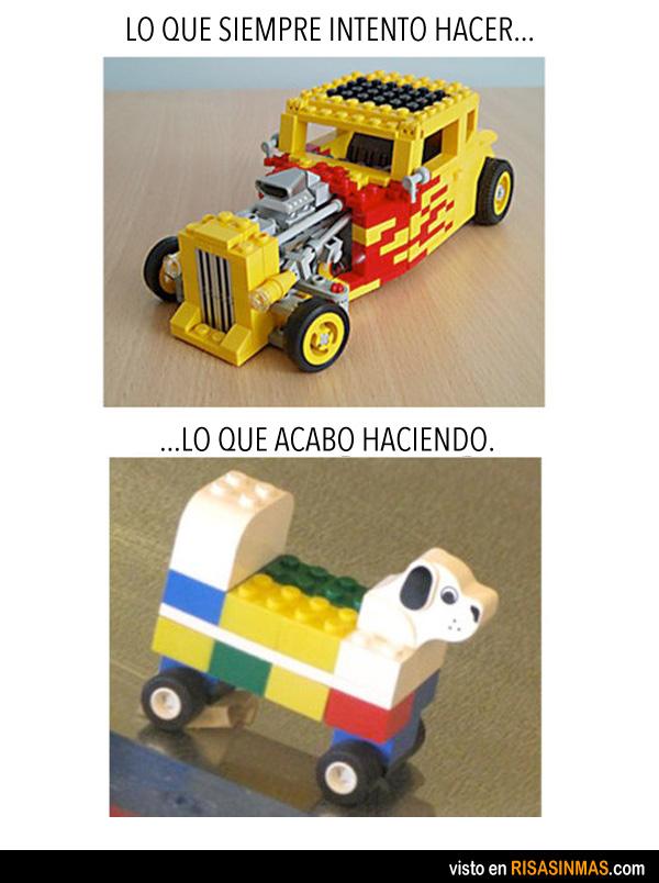 Todo un artista del LEGO