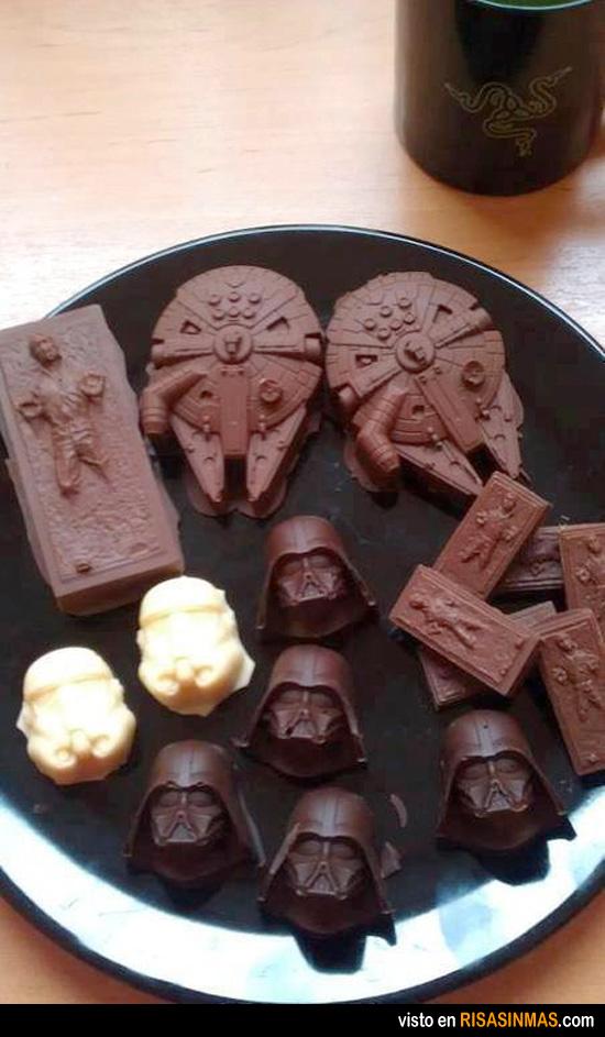 Cholates de Star Wars ¡Los quiero!