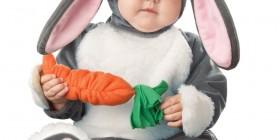 Disfraces de bebés: Conejo