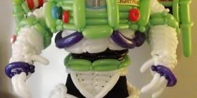 Disfraces originales: Buzz Lightyear hecho con globos