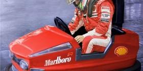 El nuevo coche de Massa