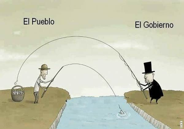 Definición gráfica de pueblo y gobierno