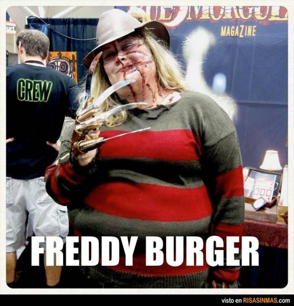 Disfraces desastrosos: Freddy Burger