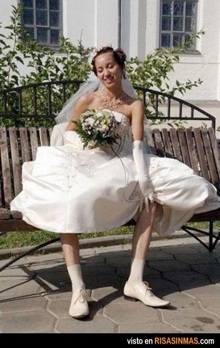 Ilusión óptica en la boda